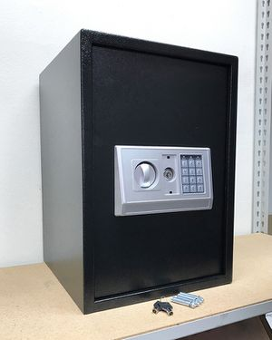 "(NEW) $85 Large 14x14x20"" Digital Security Safe Box Electric Keypad Lock w/ Master Key for Sale in South El Monte, CA"