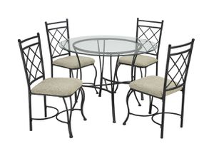 Glass dining set for Sale in Washington, DC