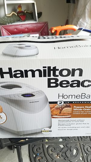 Hamilton Beach 2 lb bread maker for Sale in Glendale, AZ