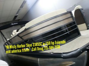2019 Misty Harbor Skye 2385SC w/150hp Evinrude for Sale in Shawano, WI