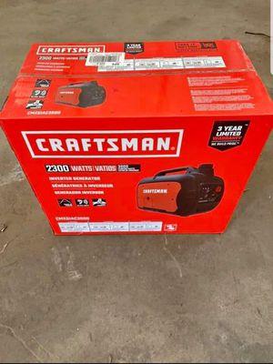 CRAFTSMAN CMXGIAC3000 3000-Watt Gasoline Portable Generator for Sale in Brooklyn Park, MD