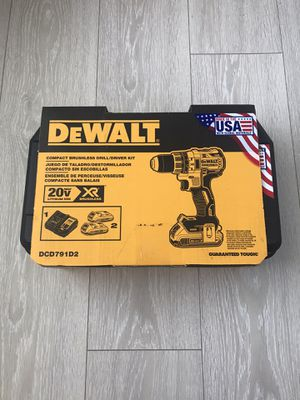 Dewalt 20V Max XR Brushless drill/ drive for Sale in Clearwater, FL