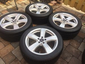 mercedes benz rims oem 5x112 size 18 for Sale in Manassas, VA