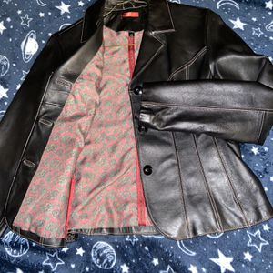 (Brand New!! Normal Price $250) Wilson Leather Button Up Jacket (Size M) 100% Leather for Sale in Alexandria, VA