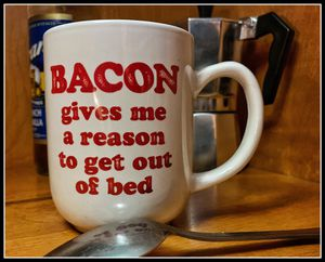 Bacon Lover's Coffee Mug for Sale in Whitefish, MT