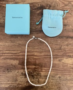 Tiffany & Co Pearl Necklace for Sale in Dallas, TX