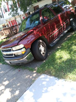 2002 chevy suburban ***NAME YOUR PRICE***NEED PURCHASED ASAP* for Sale in Landover, MD
