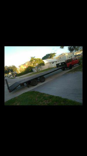 Gooseneck trailer for Sale in Margate, FL