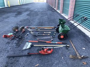 Mixed lot of gardening equipment for Sale in Bowie, MD