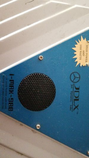 Amplifier for Speakers system for Sale in Dallas, TX
