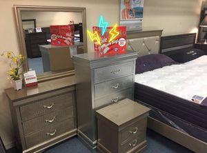 Amalia Gold Bedroom Set for Sale in Silver Spring, MD