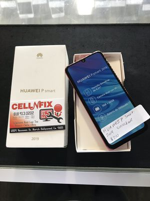Huawei P Smart Red Unlocked T-Mobile AT&T Metro PCS Cricket for Sale in Los Angeles, CA