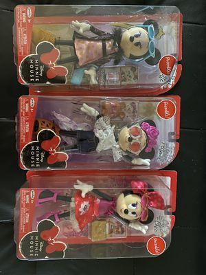 Minnie Mouse Doll Bundle $12.00!! for Sale in Bountiful, UT