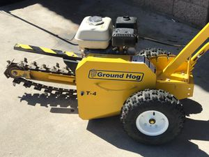 """GROUND T4HS18 HOG TRENCHER DIGGER 18""""IN COMERCIAL HONDA GX 160 GAS ENGINE LIKE NEW for Sale in San Bernardino, CA"""