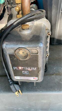 Jb -7 cfm. Vacuum pump. Hvac Freon. Refrigerant. R-22 for Sale in Las Vegas,  NV