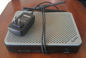 Zyxel Q1000Z Centurylink DSL Modem With Wi-Fi for Sale in Littleton, CO