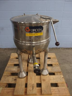 Groen Direct Steam commercial stainless steel jacketed soup kettle for Sale in New Bedford, MA