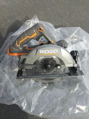 Ridgid 18v circular saw brushless nueva tool only for Sale in Moreno Valley, CA