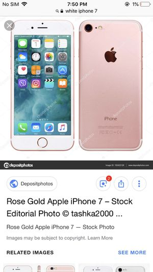 iPhone 7 rose gold for Sale in Cuba, MO