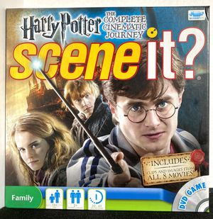 Harry Potter Scene It? Board Game for Sale in Long Beach, CA