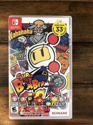 Nintendo Switch - Super Bomberman for Sale in Irvine, CA