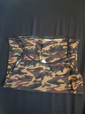 Camo spaghetti shirt (one size) for Sale in Phoenix, AZ