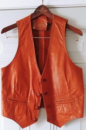 Leather Vest for Sale in Richmond, VA