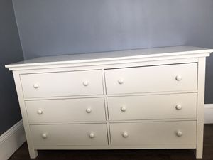 Pottery Barn kids 6 drawer dresser and twin bed frame for Sale in Medford, MA