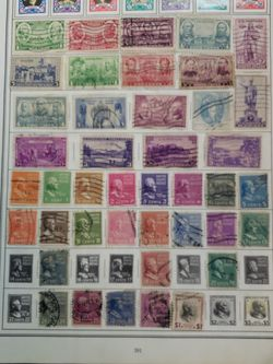 2 Sheet Of Old USA Stamps Lot KKJ 88 for Sale in Katy,  TX