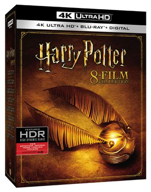 Harry Potter 8 Film Collection 4K Digital Copies for Sale in Los Angeles, CA