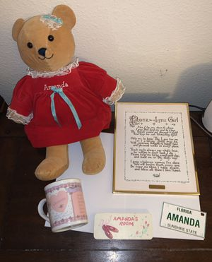 Lot - Amanda Little Girl Gifts/Collectibles for Sale in Riverview, FL