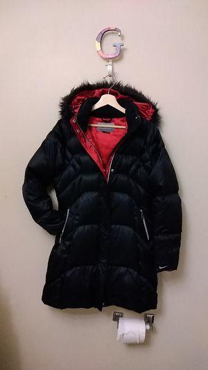 women's Nike satin winner jacket size medium 8 to 10 for Sale in Seattle, WA