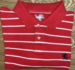 EXPRESS Men's Classic Polo Shirt Red with Stripes XXL for Sale in Grand Rapids, MI