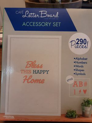 Letterboard Accesory Kit for Sale in Lubbock, TX