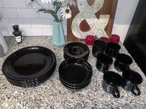 Black plates/dishes for Sale in Dunedin, FL