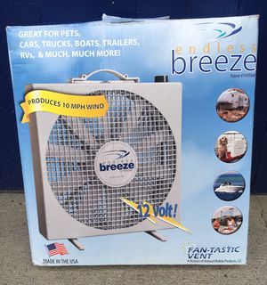 """Dometic brand """"Endless Breeze"""" fan, never used. 12VDC for Sale in Beaverton, OR"""