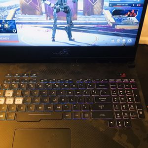 Gaming Laptop Asus Scar 2 144htz Screen ,I7 8th Gen, Full 1070 8gb Gpu 16gb Ran for Sale in Fort Myers, FL