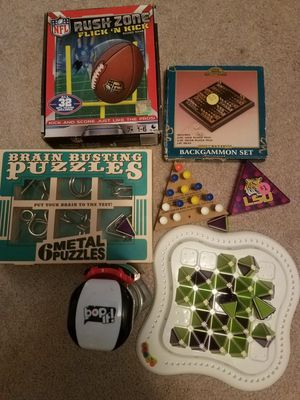 Brain Puzzle Games / Bopit for Sale in Lewisville, TX