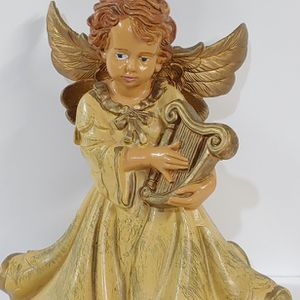 Vintage Made In Italy Plastic Angel Tree Topper for Sale in Tracys Landing, MD