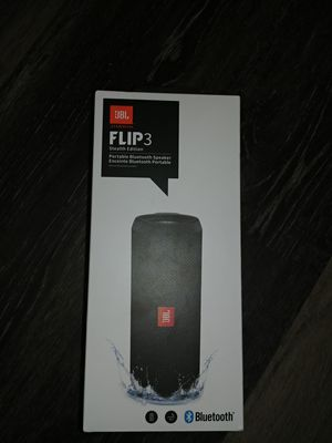 JBL Flip 3 Stealth Edition Bluetooth Speaker for Sale in Essex, MD