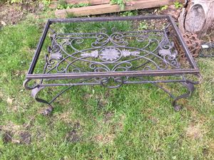 Wrought iron coffee table for Sale in Kent, WA