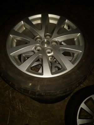 "Set of 18""wheels with very nice tires they r 50s for Sale in Kansas City, MO"
