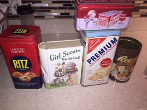 Vintage tins for Sale in Henderson, NV