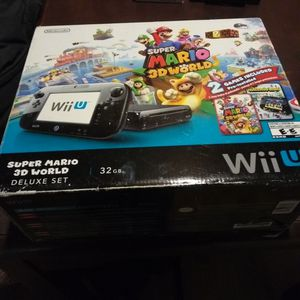 Nintendo WII Super Mario 3D World Deluxe Set for Sale in Ontario, CA