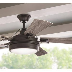 Home Decorators Westerleigh 54 in. In/Outdoor Natural Iron Ceiling Fan for Sale in Lake Forest, CA