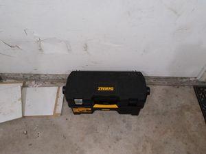 Dewalt tool box for Sale in Village, OK