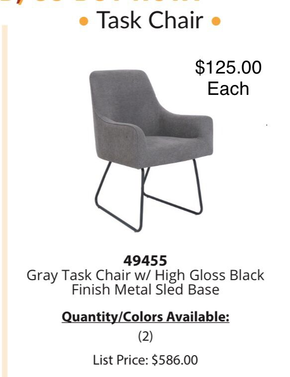 Office furniture/ chairs