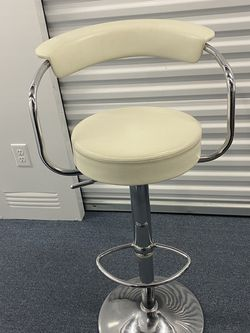 White Leather Barstools for Sale in Yonkers,  NY