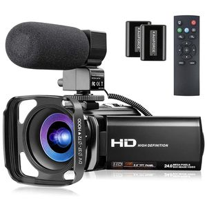 1080P Video Camera for YouTube, Melcam Digital Vlogging Camera 24MP 16X Digital Zoom 3.0 Inch 270° Rotation Screen Video Camera Camcorder with Microph for Sale in Jersey City, NJ