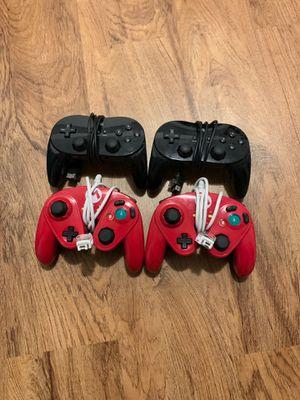 Nintendo Wii U controllers for Sale in Hazel Park, MI